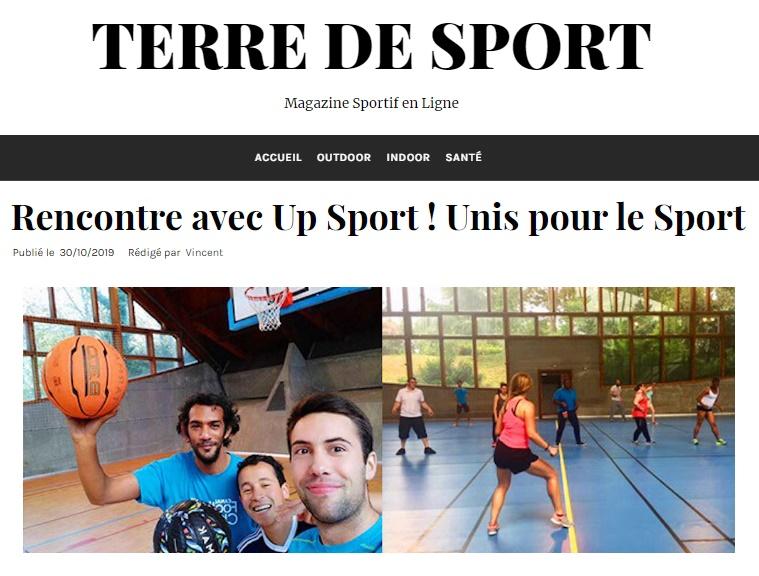 up sport terre de sport